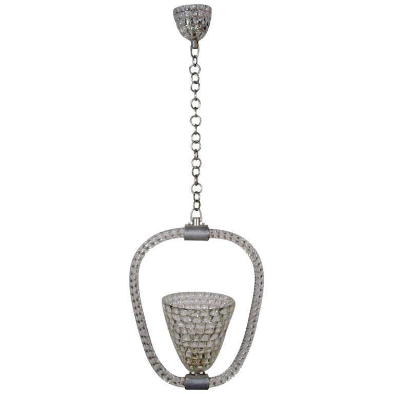 Barovier & Toso 1940s Murano Glass Lantern