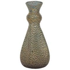 Barovier & Toso Barbarico Murano Glass Vase, Italy 1950s