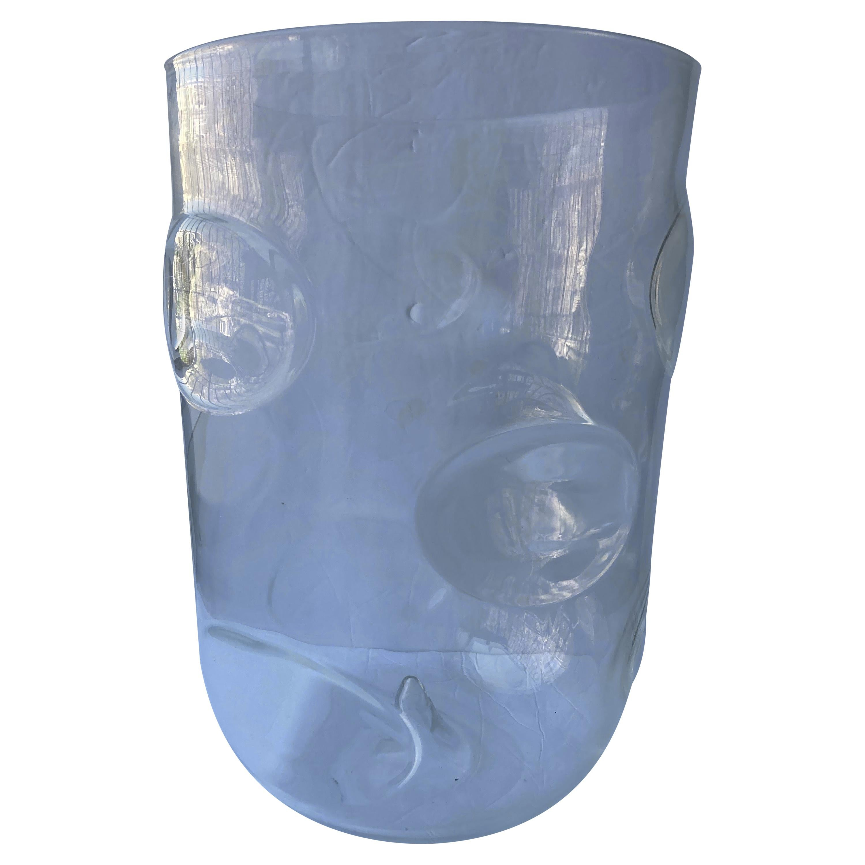 "Barovier Toso, Monumental ""Bolloni"" Murano Glass Vase, Signed"