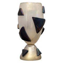 Barovier & Toso Murano Blown Glass Italian Midcentury Table Lamp, 1950