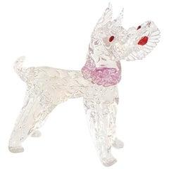 Barovier Toso Murano Dog Figurine
