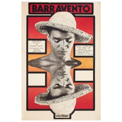 'Barravento' 1960s British Double Crown Film Poster