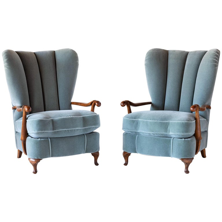 Barrel Back Armchairs For Sale