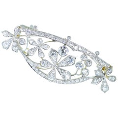 Barrette for the Hair, Platinum and Diamonds, circa 1895 by Kirkpatrick