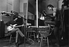 John Entwistle and Pete Townshend, The Who, London, 1968
