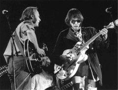 Stephen Stills and Neil Young, Wembley Stadium, London, 1974