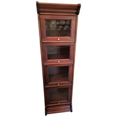 Barristers Bookcase of Neat Proportions