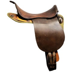Barrow, Hepburn & Gale British Military Universal Pattern Horse Saddle