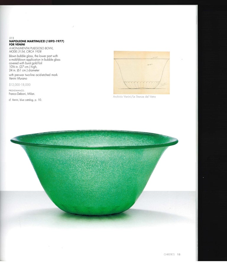 These 4 sale catalogues were produced for the sale of the many items that Barry Friedman the world renowned 20th century dealer/collector decided to sell when he stepped back from running a multi-faceted gallery business, with some also coming from
