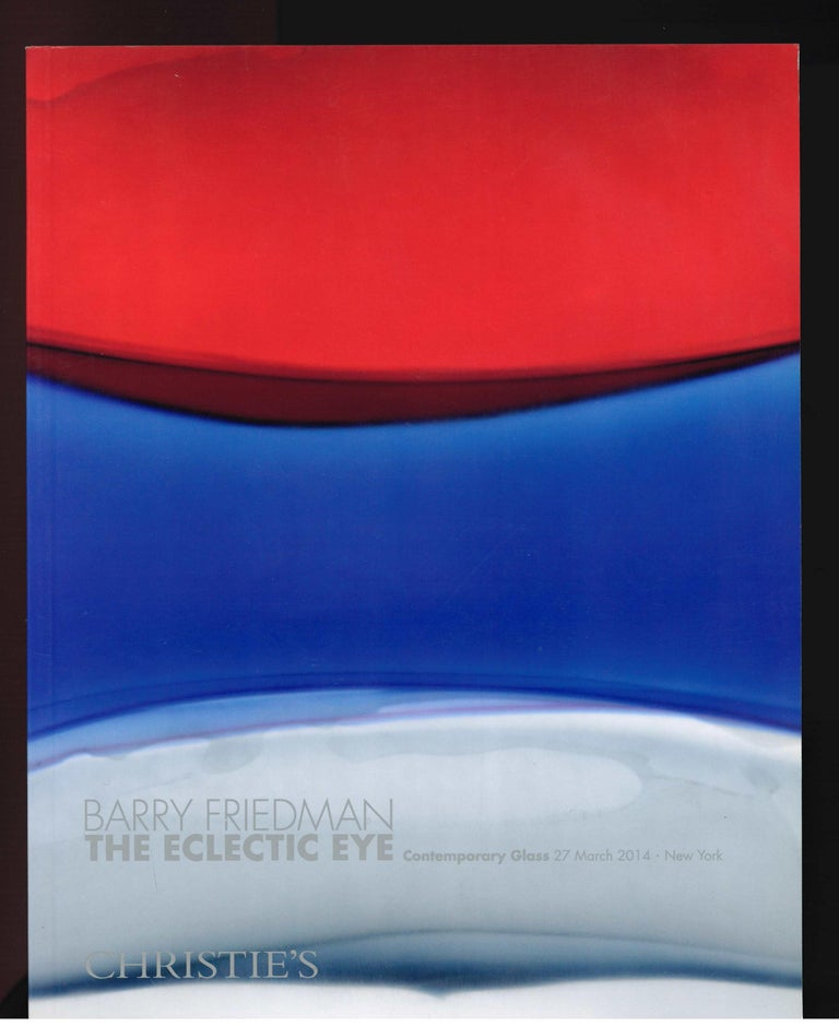 Barry Friedman, The Eclectic Eye, Set of 4 Christie's Sale Catalogues, 2014 In Good Condition For Sale In North Yorkshire, GB
