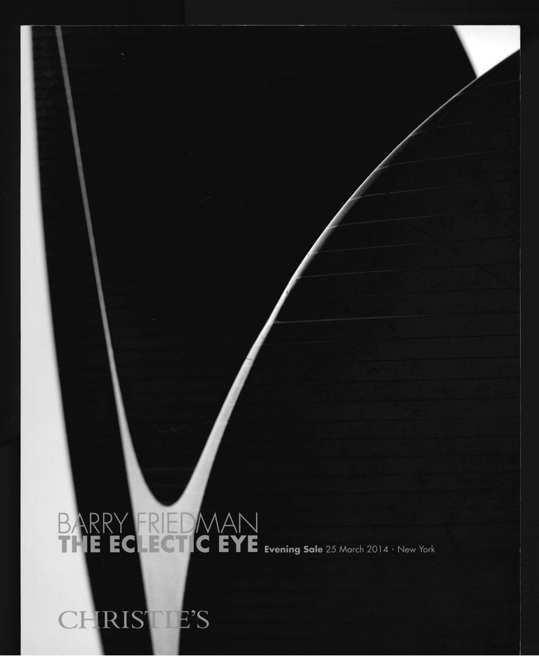 Barry Friedman, The Eclectic Eye, Set of 4 Christie's Sale Catalogues, 2014 For Sale 3