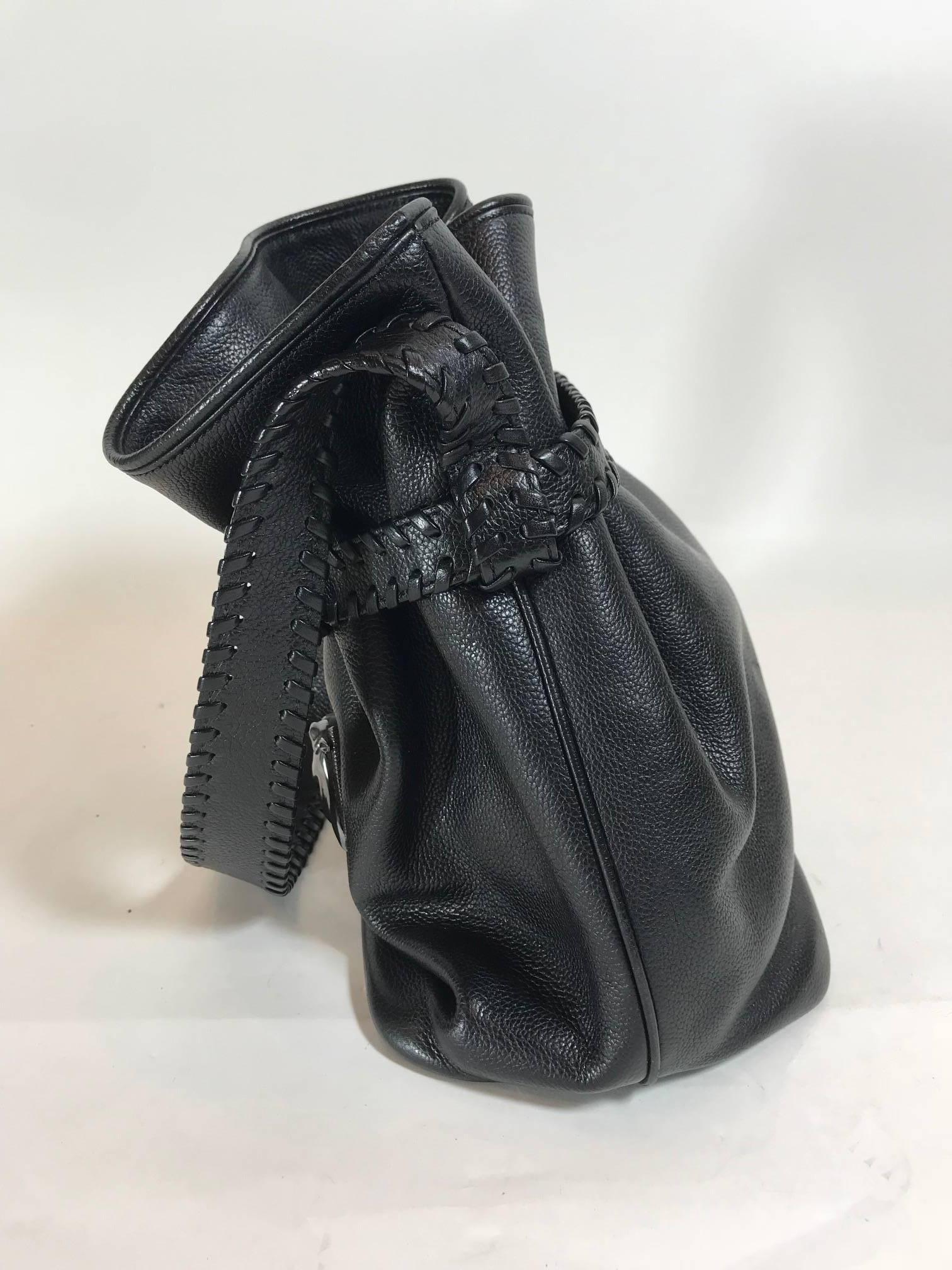 1stdibs Barry Kieselstein-cord Drawstring Shoulderbag With Silver Horse-head wZbYqx5o