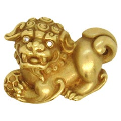 Barry Kieselstein-Cord Foo Dog Pin