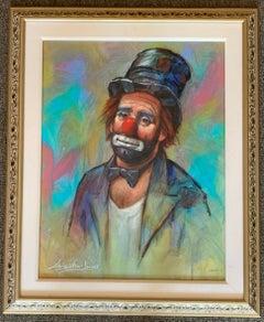 L. E. Clown In Top Hat & Bowtie (emeh Kelly) Style by Barry Leighton-Jones