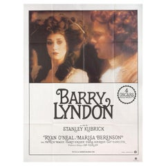 'Barry Lyndon' R1980s French Grande Film Poster