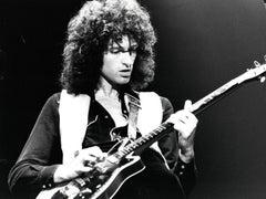 Brian May of Queen Shredding on Guitar Vintage Original Photograph