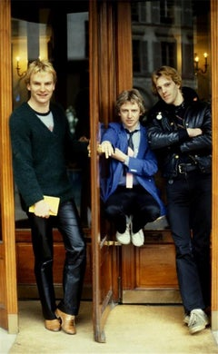 The Police, Paris, 1979