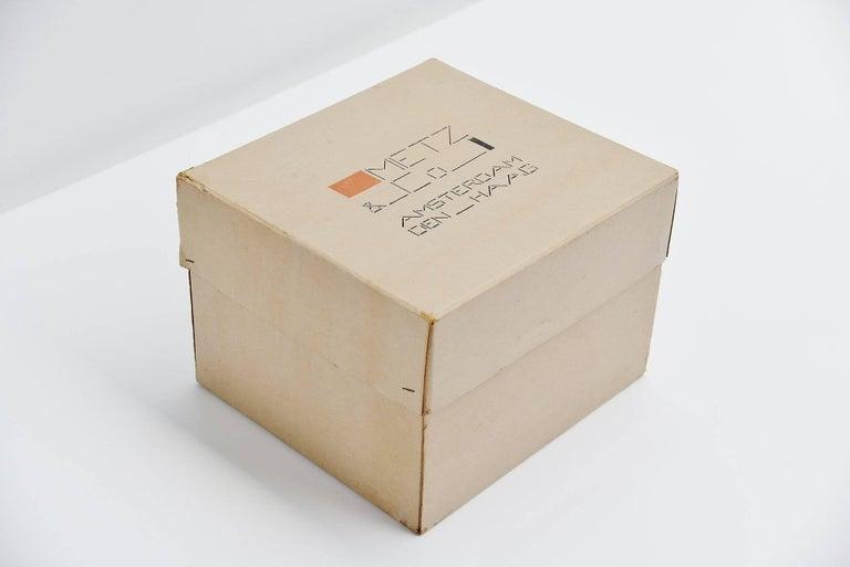 De Stijl Bart van der Leck Packaging Box Metz & Co Holland, 1935 For Sale