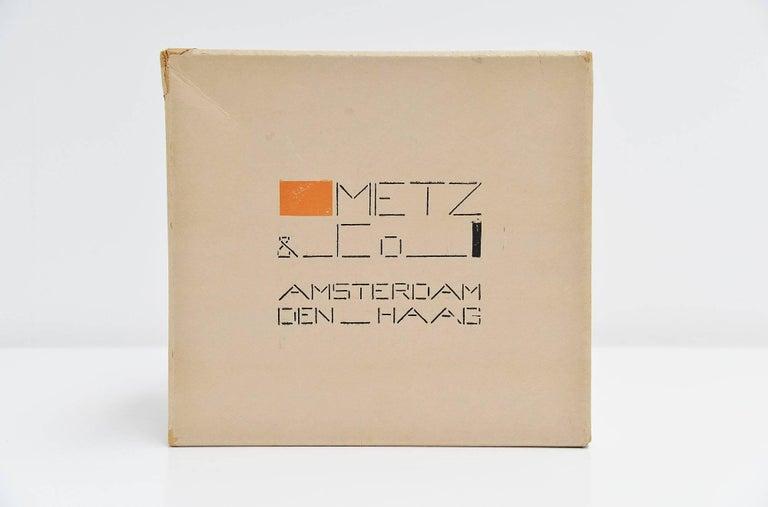 Dutch Bart van der Leck Packaging Box Metz & Co Holland, 1935 For Sale
