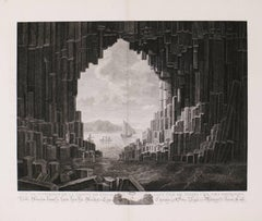 Fingal's Cave,  Staffa Island, off the Coast of Scotland in the Hebrides