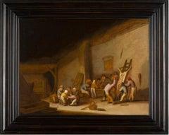 Peasants Preparing A Pig Carcass Bartholomeus Molenaer Haarlem Circa 1618-1650