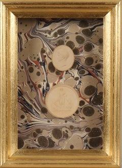 Paoletti Impronte, 'Mussei Diversi', Rome c1800. Grand Tour Intaglio seals.