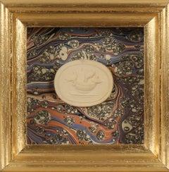 Paoletti Impronte, 'Mussei Diversi', Rome c1800. Grand Tour intaglio seal.