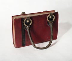 Untitled (Maroon Handbag Book)