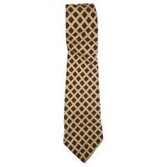 Barton moda multicoloured silk tie