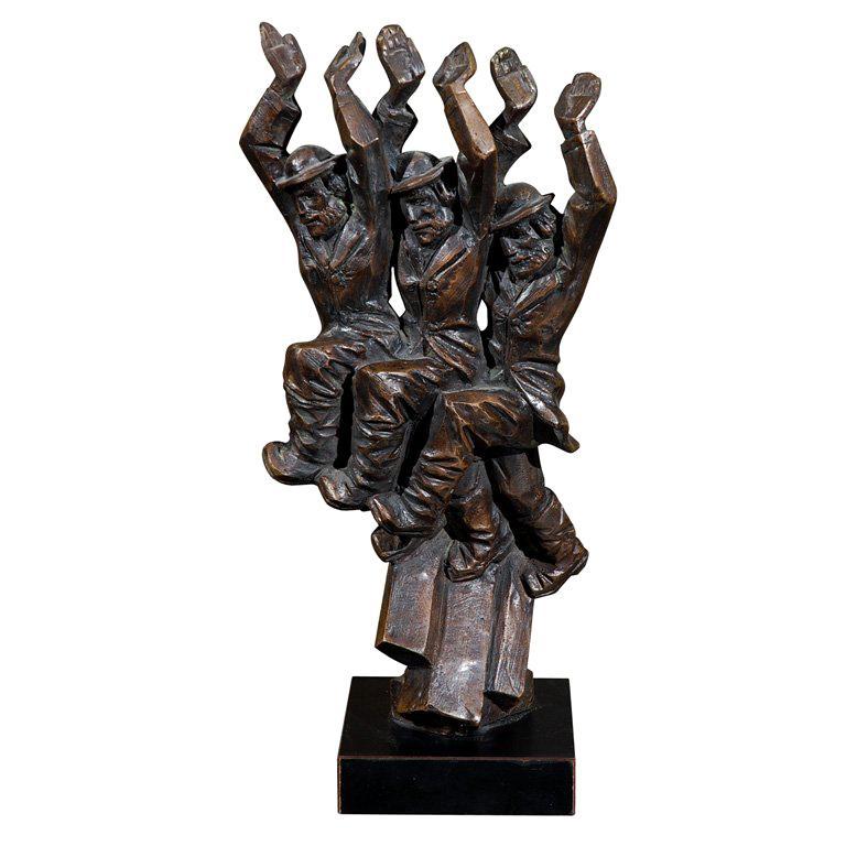 Baruch Saktsier bronze signed and numbered 4/9