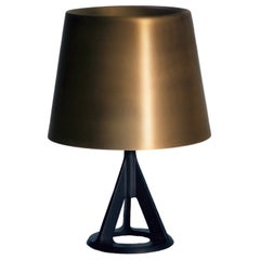 Base Table Lamp in Brass by Tom Dixon