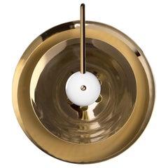 Basie Sconce in Brass