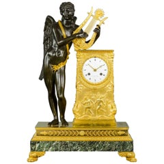 Basil Charles Le Roy Empire Clock, Pierre-Philippe Thomire, circa 1810