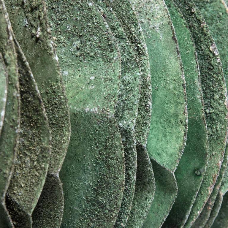 "Metal ""Basilisk"" Sculpture by Michael Thompson For Sale"