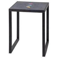 Basis Rho Side Table 'Wood' by Studio Jeschkelanger