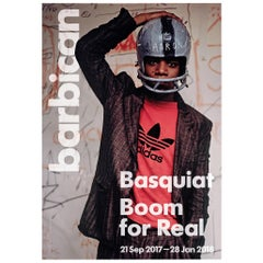 Basquiat Boom for Real Exhibition Poster, London