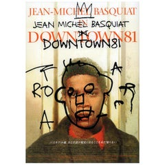 Basquiat Downtown 81 Film Poster