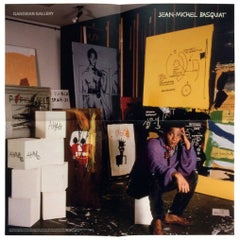 Basquiat Exhibition Poster Gagosian Gallery, 2013