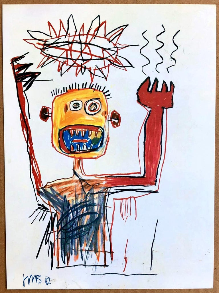 Basquiat Gallery Announcement Cards, 'Set of 2' In Excellent Condition In Brooklyn, NY