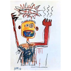 Basquiat Gallery Announcement Cards, 'Set of 2'
