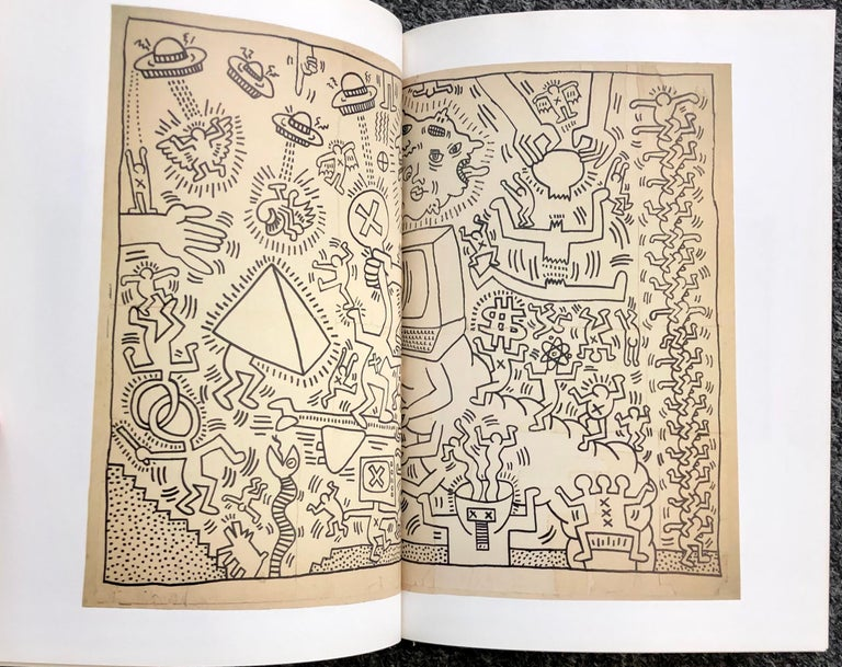 Late 20th Century Basquiat Keith Haring Kenny Scharf Catalogue, 1998