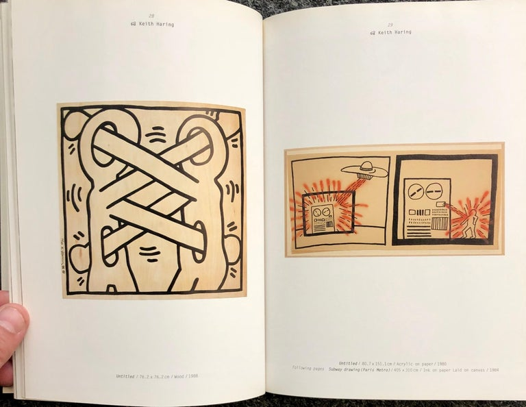 Paper Basquiat Keith Haring Kenny Scharf Catalogue, 1998