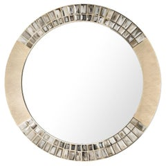 Bass Round Wall Mirror