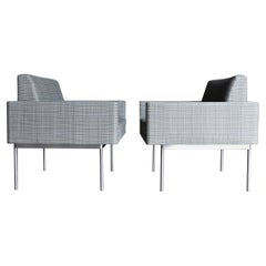 Bassam Fellows Tuxedo Component Lounge Chairs for Geiger, 2015