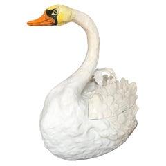 Bassano Swan Tureen