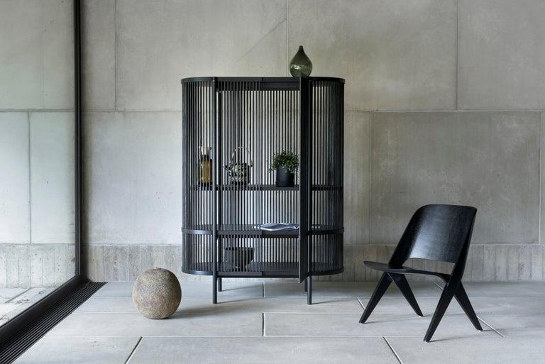 Finnish Bastone Cabinet in Oak For Sale