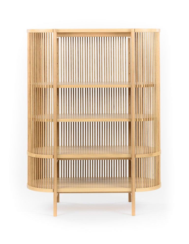 Bastone Cabinet in Oak In New Condition For Sale In Helsinki, FI