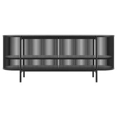 Bastone Sideboard in Black with Doors