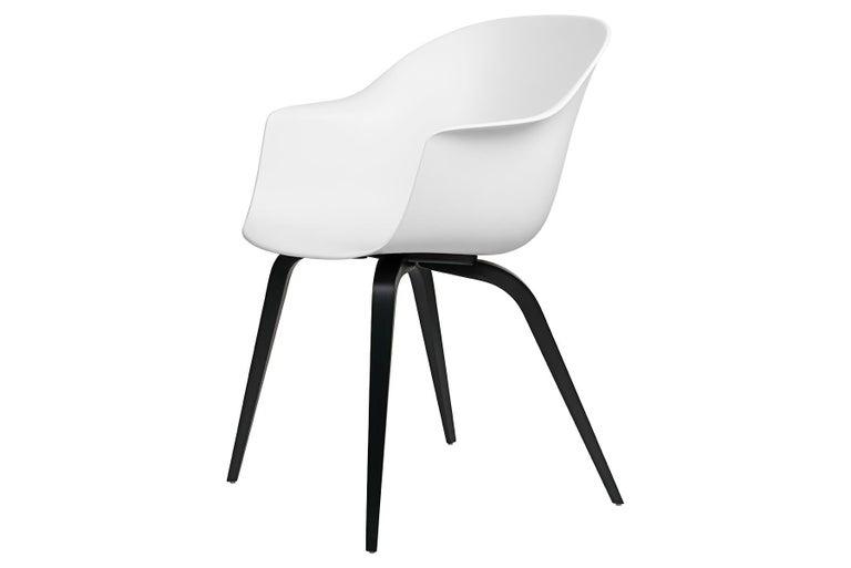 Unglazed Bat Dining Chair, Un-Upholstered, Natural Oak For Sale