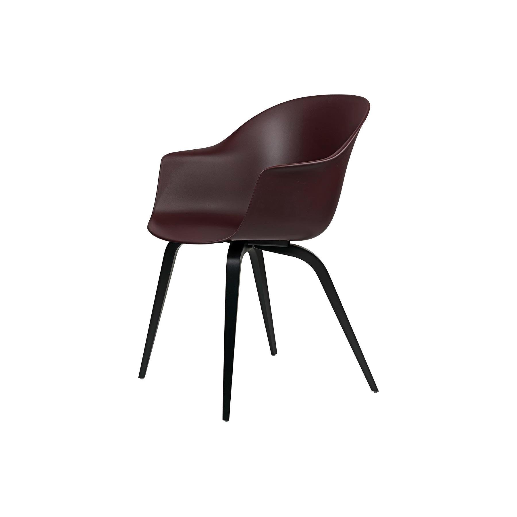 Bat Dining Chair, Un-Upholstered, Natural Oak